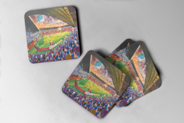 turf moor Coaster set of four